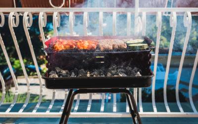Ritorno di fiamma: grigliata in appartamento